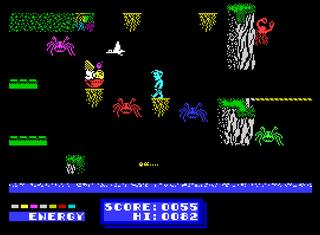 ZX Spectrum - Speccy - Dynamite Dan