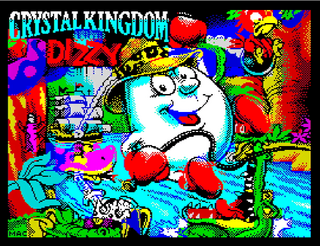 ZX Spectrum - Spectaculator - Dizzy VII - Crystal Kingdom Dizzy (2017)