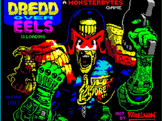 ZX Spectrum - Spectaculator - Dredd Over Eels