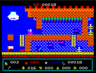 ZX Spectrum - Spectaculator - Gandalf