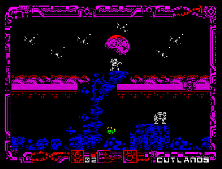 ZX Spectrum - Spectaculator - Harbringer 2 The Void