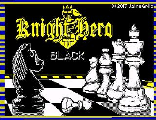 ZX Spectrum - Spectaculator - Knight Hero