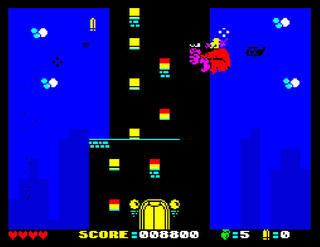 ZX Spectrum - Spectaculator - Saving Kong