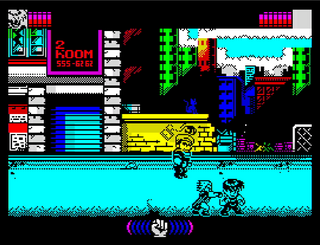 ZX Spectrum - Spectaculator - The Mighty Final Fight Game