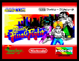 ZX Spectrum - Spectaculator - The Mighty Final Fight Loader