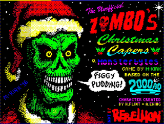 ZX Spectrum - Spectaculator - Zombos Christmas Capers