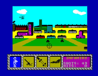 ZX Spectrum - ZxMak2 - Theatre Europe
