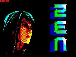 Retro - ZEN (ZX Spectrum). ZXGraph, Einar Saukas. Muzyka Mr.Beep, 2014