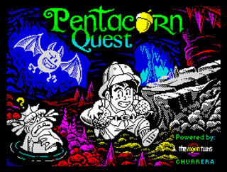 Retro - PentAcorn (ZX Spectrum). Game Desing: José Ignacio Rodríguez (Nightwolf). Graphics: Jarlaxe. Music and Audio: John McKlain. Implementation of Arkos Player: Syx. Betatesters: Metr, gg, 2015