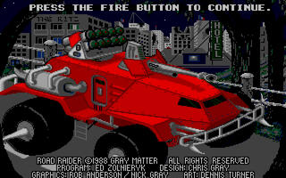 Atari ST:Steem:Road Raider (a.k.a. Motor Massacre):Gremlin Graphics Software Ltd.:1988: