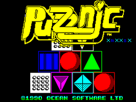 ZX:Spectrum:Speccy.pl:Puzznic:Ocean Software Ltd.:Taito Corporation:1990: