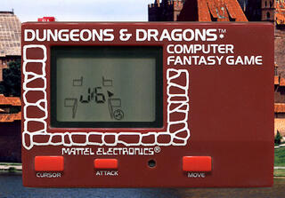 Game&Watch:Madrigal:Simulator:Dungeons & Dragons Computer Fantasy Game:Mattel Electronics:Action Arcade Series: