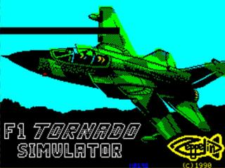 ZX:Spectrum:Sinclair:Spud:F1 Tornado (a.k.a. F1 Tornado Simulator):Zeppelin Games Limited:1990: