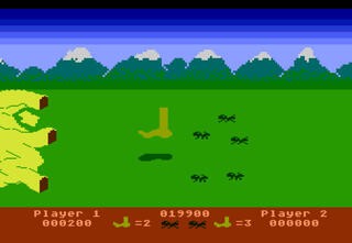 Atari:XE:XL:800:Altirra:Whomper Stomper:Adventure International:1982