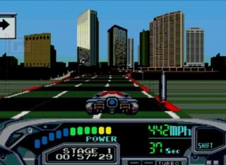 Sega:Genesis:Gens32:Surreal:Turbo Outrun 2019:SEGA of America, Inc.:Hertz Co. Ltd:1993: