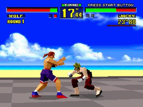 Sega 32x:Gens:ReRecording:Virtua Fighter:SEGA of America, Inc.:SEGA-AM2 Co., LTD.:1995: