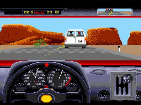 Sega 32x:Gens:ReRecording:The Duel: Test Drive II:Accolade, Inc., Ballistic:Distinctive Software, Inc.:1992:
