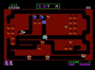 Atari:XE:XL:800:Altirra:Mr. Do:Datasoft, Inc.:Universal Co., Ltd.:1984: