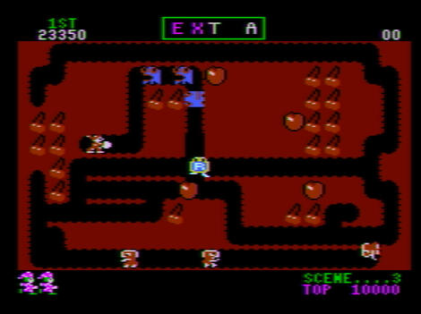 Atari XE:XL:800:Altirra:Mr. Do:Datasoft, Inc.:Universal Co., Ltd.:1984: