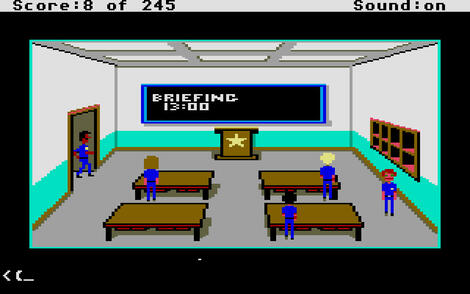 Atari ST:Steem:Police Quest: In Pursuit of the Death Angel (a.k.a. Police Quest 1):Sierra On-Line, Inc.:Sierra On-Line, Inc.:1987: