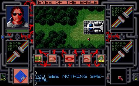 Amiga WinFellow:Chaos in Andromeda - Eyes of the Eagle:On-line:1991: