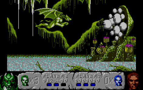 Atari ST Steem:Altered Beast:Activision, Inc.:SEGA Enterprises Ltd.:1989: