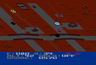 Atari:XE:XL:800:Altirra:Blue Max 2001:Synapse Software Corporation:Synapse Software Corporation:1984: