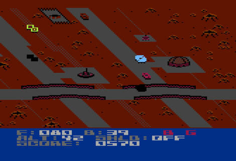 Atari XE:XL:800:Altirra:Blue Max 2001:Synapse Software Corporation:Synapse Software Corporation:1984: