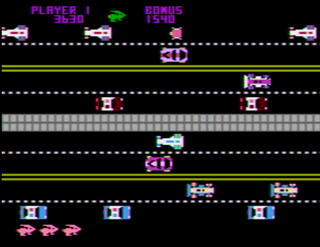 Atari:XE/XL:Altirra:Pacific Coast Highway:Datasoft:1982: