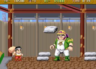 Arcade:Final Burn:Schuffle:Hammerin' Harry:Irem:1990