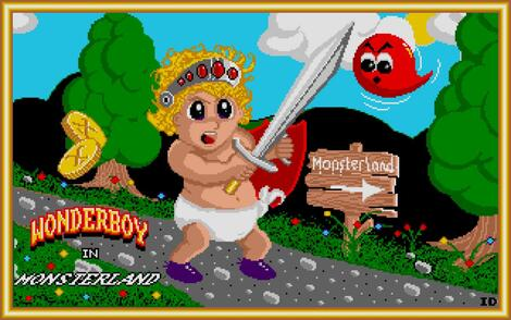 Atari ST Steem:Wonder Boy in Monster Land (a.k.a. Super Wonder Boy):Activision, Inc.:Westone Co., Ltd.:1989: