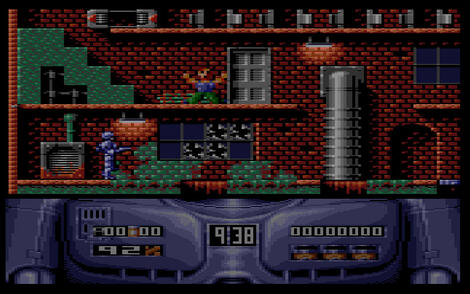 Amstrad:CPC:GX4000:MyArnold:RoboCop 2:Ocean Software Ltd.:Ocean Software Ltd.:1990: