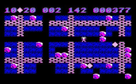 Multi BBC:Acorn:Micro:Pantheon:Boulder Dash:Tynesoft Computer Software:First Star Software, Inc.:1988: