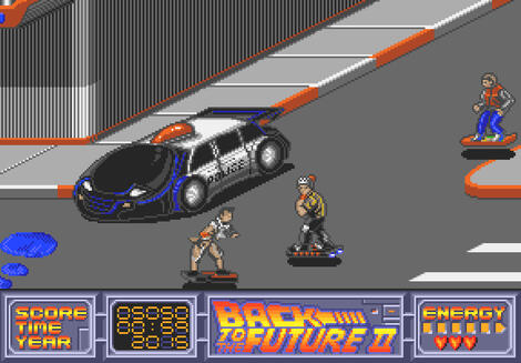 Atari ST Steem:Back to the Future Part II:Image Works:Images Software Ltd.:1990: