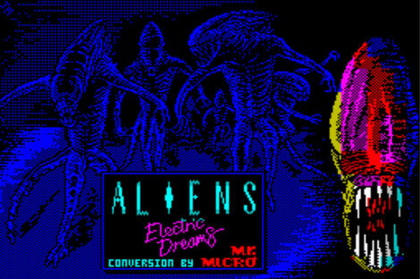 Multi Mess:Spectrum:Sinclair:Aliens:Electric Dreams Software:1987: