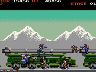 Arcade:Mame:Rush'n'Attack (aka Green Beret):Konami:1985