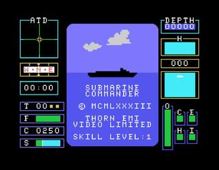 Gamebase:Texas Instruments:TI99/4a:MESS:Submarine Commander:Thorn Emi:1983: