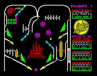 ZX:Spectrum:Speccy:Pinball Advanced:1988