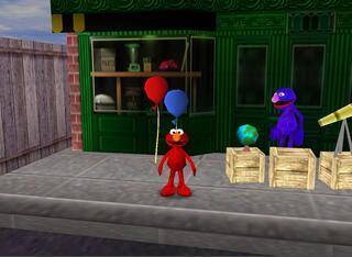 Nintendo 64:Muppen:Mpy:Elmo's Letters Adventure:1999: