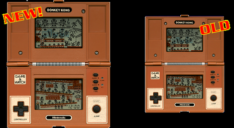 Game&Watch Madrigal:Nintendo:Donkey Kong:Nintendo:1982
