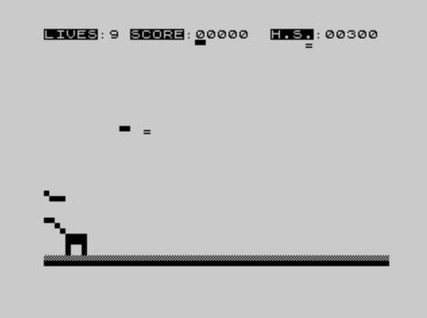 ZX81 Spectrum:Sinclair:Starwars