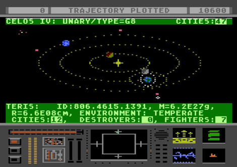 Atari XE/XL:Altirra:Star Raider II:Atari Corporation:Atari Corporation:1986: