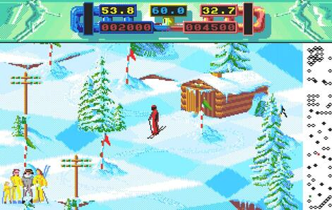 Atari ST Steem:Professional Ski Simulator (a.k.a. Advanced Ski Simulator):Codemasters:Codemasters:1989: