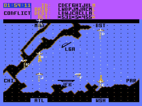 Atari XE/XL:Altirra:Kennedy Approach:MicroProse Software, Inc.:MicroProse Software, Inc.:1985: