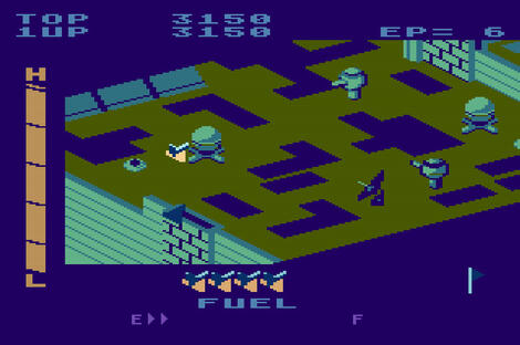 Atari Atari800:Super Zaxxon:SEGA Enterprises, Inc.:SEGA Enterprises, Inc.:1984: