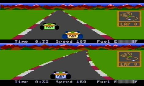 Atari XE/XL:Altirra:Pitstop II:Epyx, Inc.:Synergistic Software, Inc.:1984: