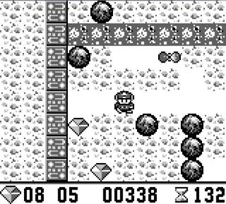 Nintendo:GameBoy:GBE:Boulder Dash:Victor Musical Industries, Inc.:First Star Software, Inc.:Sep 21, 1990: