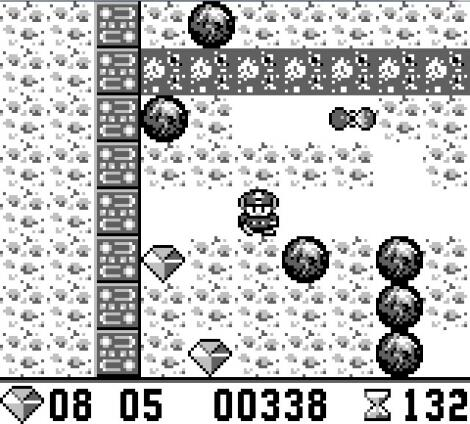 Nintendo GameBoy:GBE:Boulder Dash:Victor Musical Industries, Inc.:First Star Software, Inc.:Sep 21, 1990: