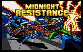 Amiga:WinUAE:Midnight Resistance:Ocean Software Ltd.:Data East Corporation:1990: