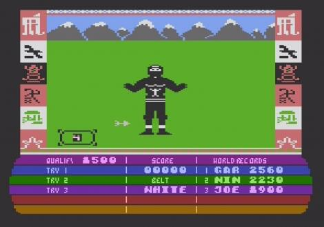 Atari XE/XL:Atari800:Ninja Master:Firebird Software Ltd.:Tron Software:1986: